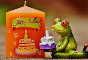 誕生日ケーキのプレゼント